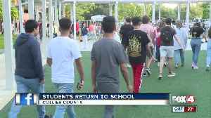 Collier schools tighten security measures as students head back to class [Video]