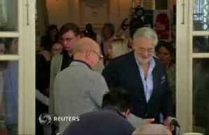 News video: Placido Domingo accused of sexual misconduct