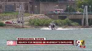 News video: Coast Guard searching Ohio River for possible drowning victim
