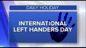 News video: Daily Holiday - International left handers day