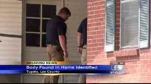 Coroner identifies body found at Tupelo home [Video]