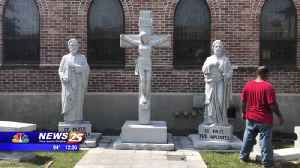 New statues honor first Diocese of Biloxi Nativity BVM Cathedral [Video]