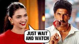 Deepika Padukone Talks About Her Look As Ranveer Singh's Wife In Film 83 [Video]