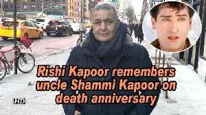 News video: Rishi Kapoor remembers uncle Shammi Kapoor on death anniversary