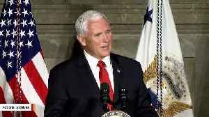 Pence Spokeswoman Alyssa Farah To Join Pentagon As Press Secretary [Video]
