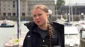 News video: Thunberg admits her journey is a