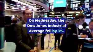 Dow Plummets Nearly 800 Points on Recession Worries [Video]