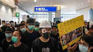 Hong Kong's Airport Protests Turn Chaotic And Violent [Video]