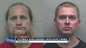 Father and son charged with hate crimes in Sheboygan [Video]