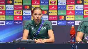 First female referee to officiate Super Cup not afraid of intense spotlight [Video]