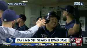 Rays set franchise record for road winning streak in 7-5 win [Video]