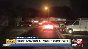 Suspects hold two people at gunpoint during Tampa home invasion [Video]