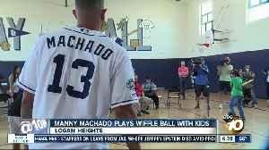 Padres star Manny Machado on hand to celebrate Boys and Girls Club renovation [Video]