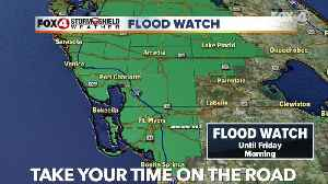 Flood Watch in some counties in SWFL [Video]