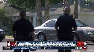 Bakersfield police on maximum enforcement today [Video]