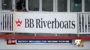 BB Riverboats worker fell into Ohio River Tuesday morning, wasn't reported missing for over an hour [Video]