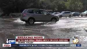 Water main break wreaks havoc on business [Video]