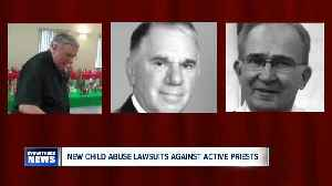 More priest lawsuits alleging child sex abuse - some against active serving priests. [Video]