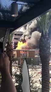 Video shows apparent explosion at Tempe construction site fire [Video]