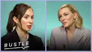 News video: Cate Blanchett and Troian Bellisario Reveal Their Irrational Dream Jobs