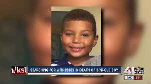 Community members search for potential witnesses in shooting of 8-year-old boy [Video]