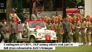 Dress rehearsal for 73rd Independence Day held in Udhampur and Srinagar [Video]