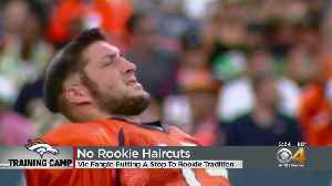 Rookie Haircuts Tradition Comes To A Close For Denver Broncos [Video]