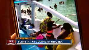 Woman receives scare in the Dominican Republic [Video]