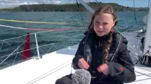 Greta Thunberg sets off for US climate summit [Video]