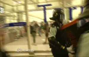 News video: Hong Kong airport reopens after night of clashes
