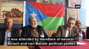 Free Balochistan Movement marks Independence Day of Balochistan in London [Video]