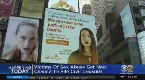 News video: Victims Of Sex Abuse Get New Chance To File Civil Lawsuits