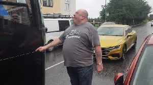 Foul mouthed driver dubbed 'new Ronnie Pickering' [Video]