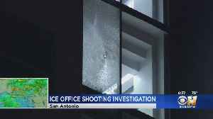 News video: Shots Fired At San Antonio ICE Offices