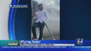 Trending: Delta Solo Flight [Video]