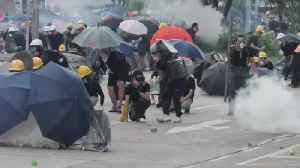 News video: China Braces For Military Action In Hong Kong