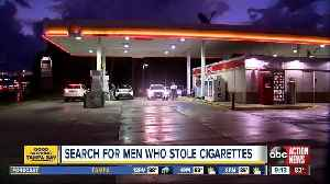 Deputies search for men who stole cigarettes from Circle K gas stations in Tampa [Video]