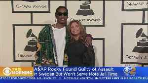 News video: Rapper A$AP Rocky Found Guilty In Connection With Street Brawl In Sweden