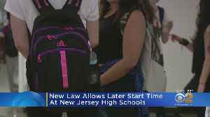 New Law Allows Later Start Time At New Jersey High Schools [Video]