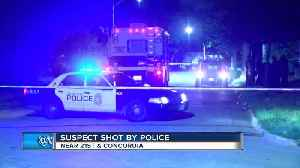 Suspect shot by police near 21st & Concordia [Video]