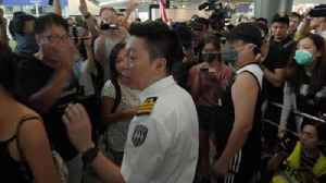 Authorities attempt to stop Hong Kong protests [Video]