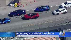 Exotic Cars Spotted In Malibu On Way To Monterey Car Week [Video]