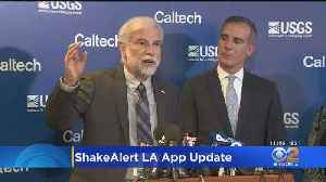 News video: Following Recent Issues, LA Unveils Updated Earthquake Alert App