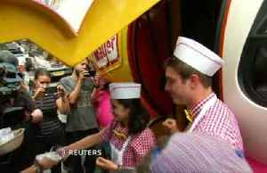 'Not as bad as you'd imagine' hot dog flavored ice cream in NY [Video]