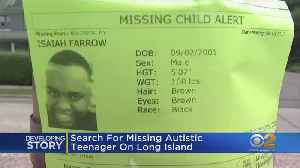 Search For Missing Teenager With Autism On Long Island [Video]