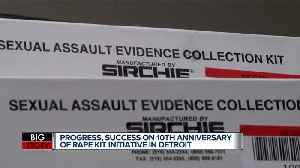11,341 rape kits left inside Detroit Police storage have now been tested 10 years later [Video]