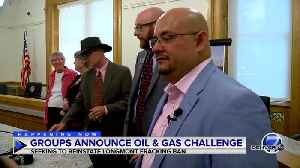 Activists ask court to lift injunction on Longmont's fracking ban after passage of new oil and gas law [Video]