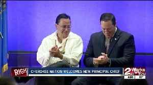 Cherokee Nation welcomes new principal chief [Video]