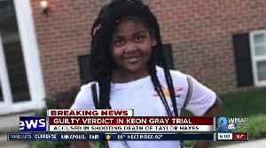 Guilty verdict in Keon Gray trial [Video]