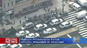 Multiple Philadelphia Police Officers Wounded In Shootout [Video]